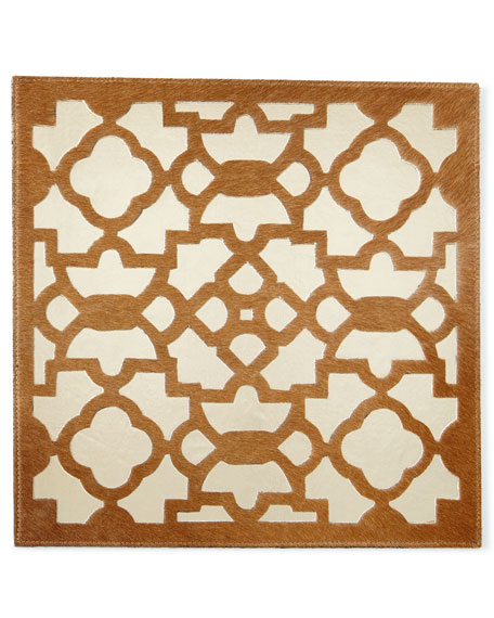 Kim Seybert Casablanca Tan/Gold Placemat