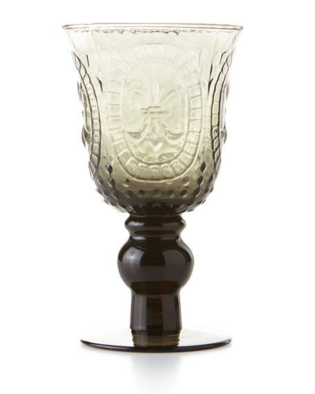 R Squared Smoke Renaissance Goblet, Set of 4