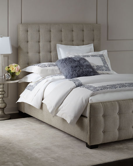 Caleb Tufted King Bed