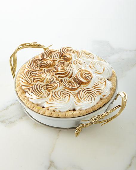 Michael Aram Wheat Pie Dish