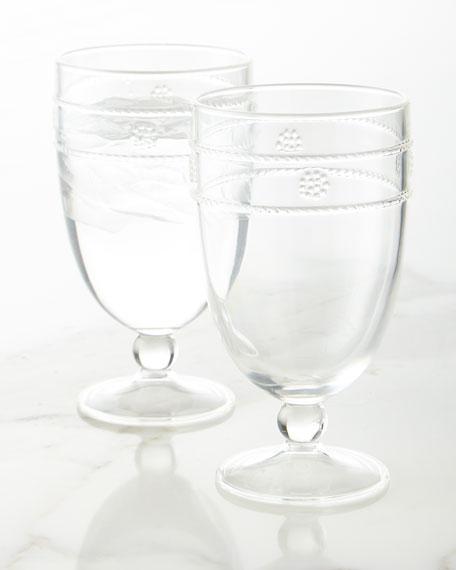 Juliska Isabella Acrylic Goblet