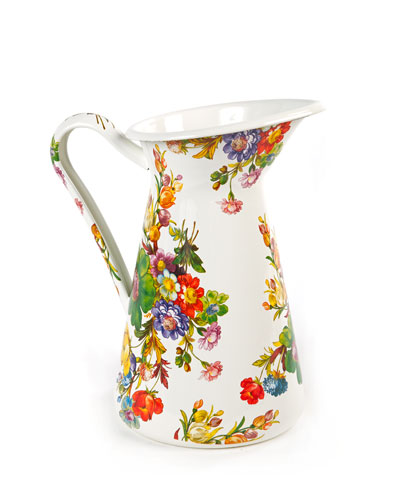 Flower Market Practical Pitcher