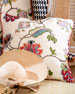 "MacKenzie-Childs Chelsea Garden Pillow, 20""Sq."