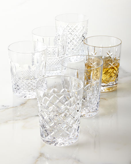 Waterford Crystal Set of 6 Connoisseur Heritage Double