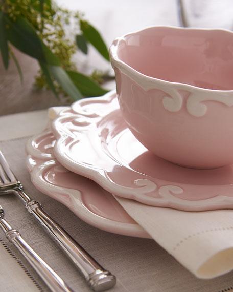 & 12-Piece Arabesque Dinnerware Service Pink | Neiman Marcus