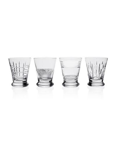 Kismet Whiskey Tumblers, Set of Four