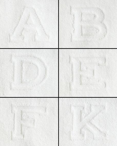 Matouk Auberge Monogrammed Face Cloth