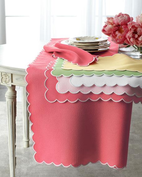 "Savannah Gardens Tablecloth, 120"" Round"