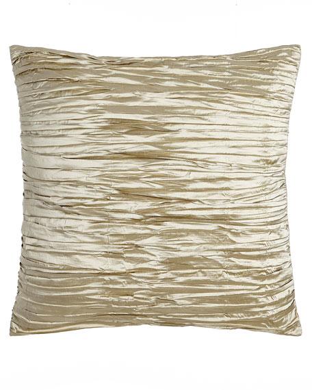 Austin Horn Collection European Blossom Pleated Silk Sham