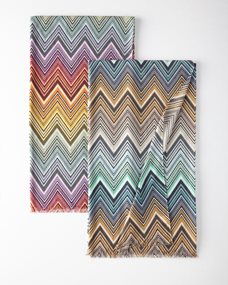 Missoni Home Teo Chevron Throw