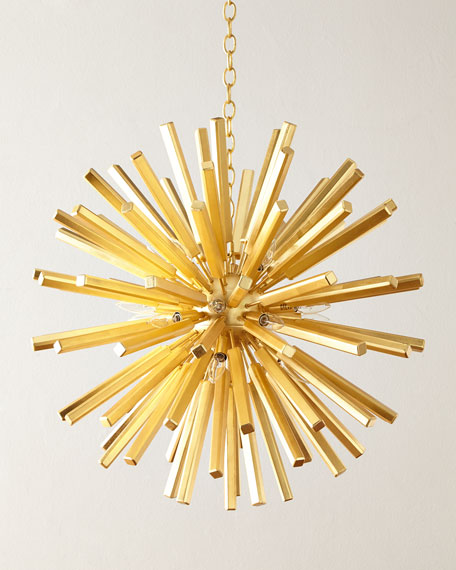 Visual Comfort Lawrence Medium Sputnik Pendant