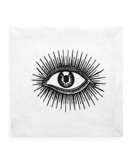 Eyes Cocktail Napkins, Set of 4