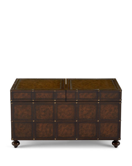 Martin Trunk-Style Coffee Table
