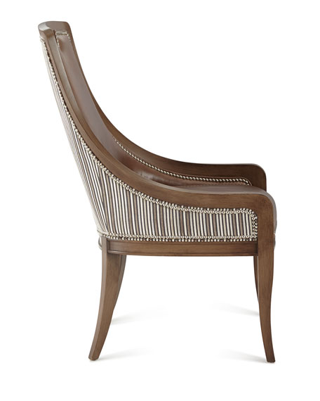 Marcotte Leather Dining Chair