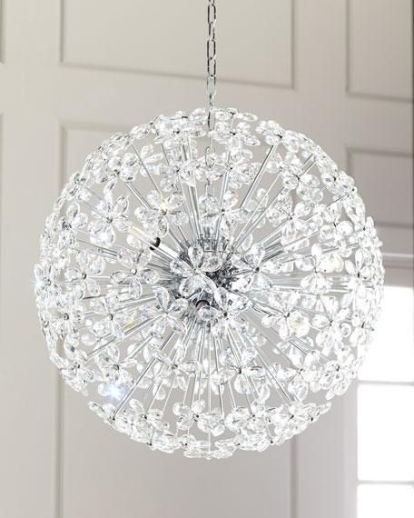 Floret Crystal Pendant Chandelier