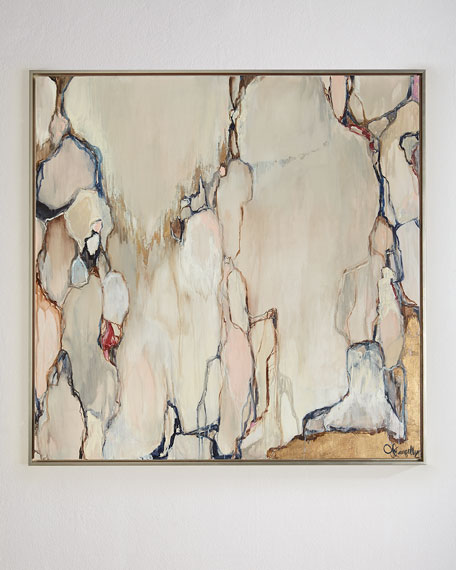 "Jill Pumpelly Fine Art A New Day Giclee, 48""Sq."