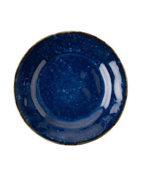Juliska Puro Dappled Cobalt Dessert/Salad Plate