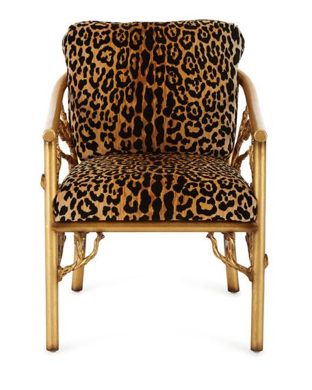 Leopard Branch Chair