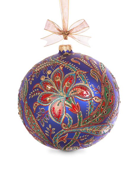 Jay Strongwater Limited Edition 2017 Opulent Ornament