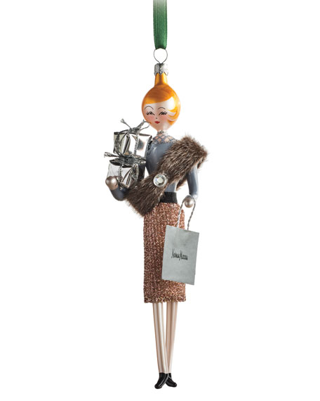 Neiman Marcus Lady Ornament
