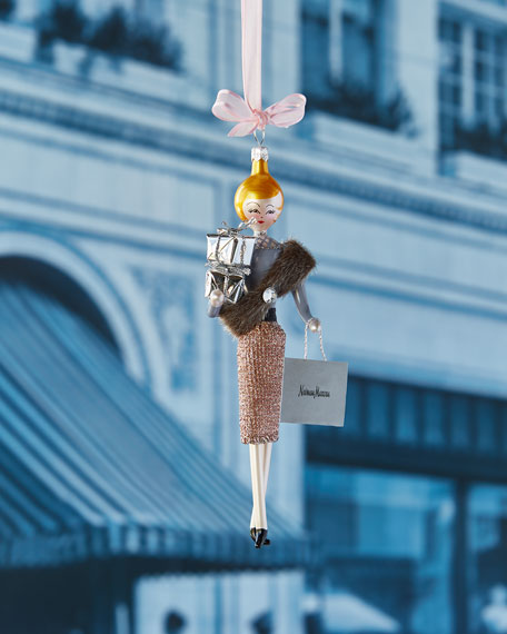 De Carlini Neiman Marcus Lady Ornament