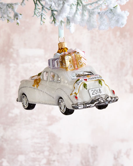 Wedding Car Ornament