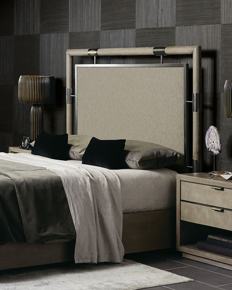 Bernhardt Annistyn Metal Accent Queen Bed