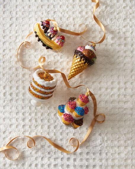 Sweets Ornaments, Set of 4