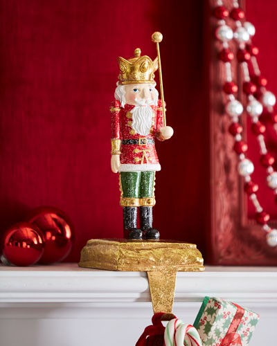 Toy Soldier Stocking Holder, Wand Up