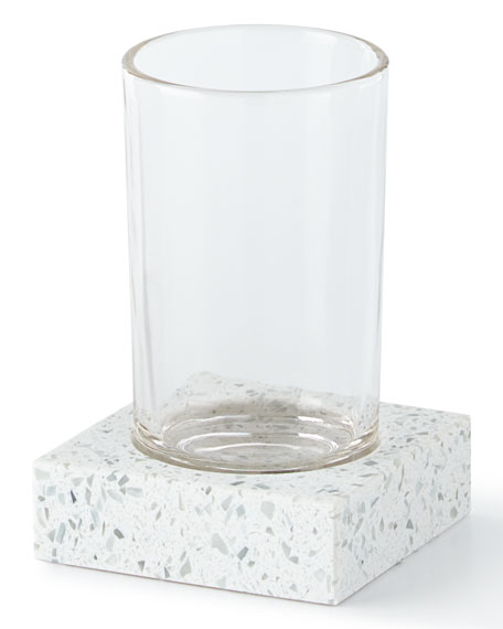 Terrazo Bathroom Tumbler