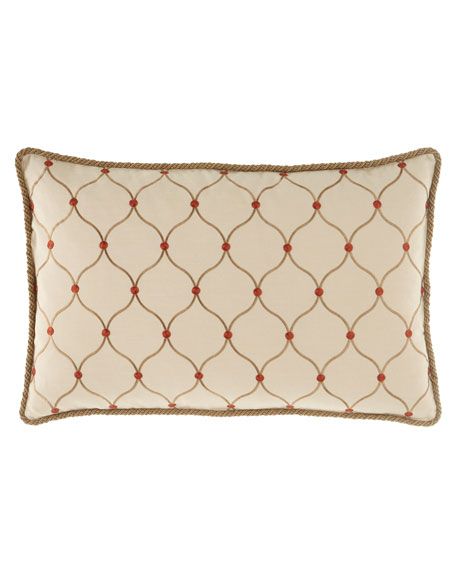 Sweet Dreams Marguerite Ogee Pillow, 17