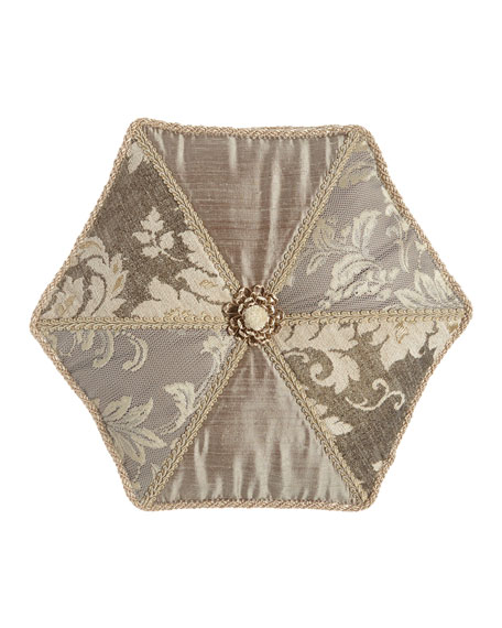 Dian Austin Couture Home Elegance Hexagon Pillow