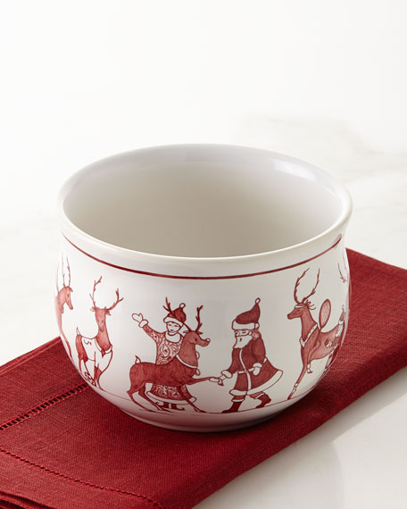 Country Estate Reindeer Games Comfort Bowl