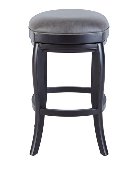Adalia Leather Bar Stool