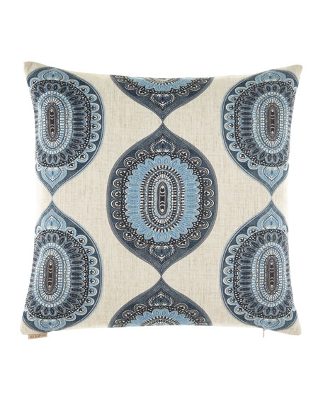 D.V. Kap Home Traveler Indigo Pillow, 24