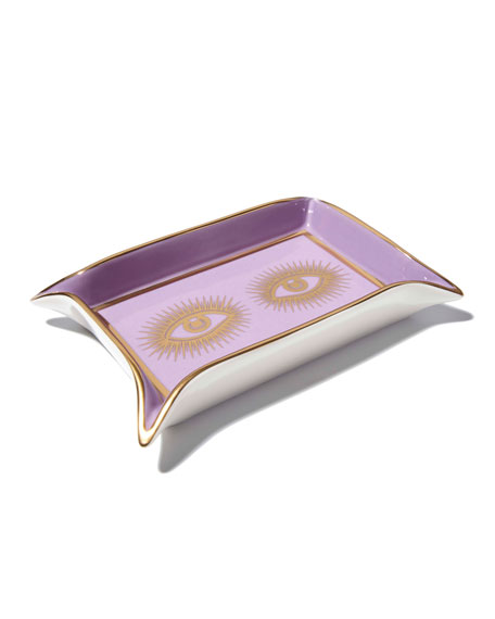 Image 3 of 3: Jonathan Adler Muse Valet Eyes Tray