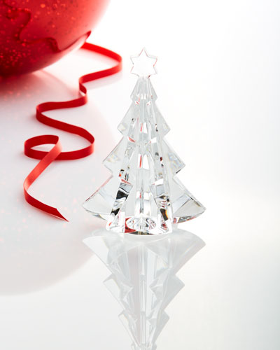 Noel Meribel Crystal Fir Tree Collectible, Clear