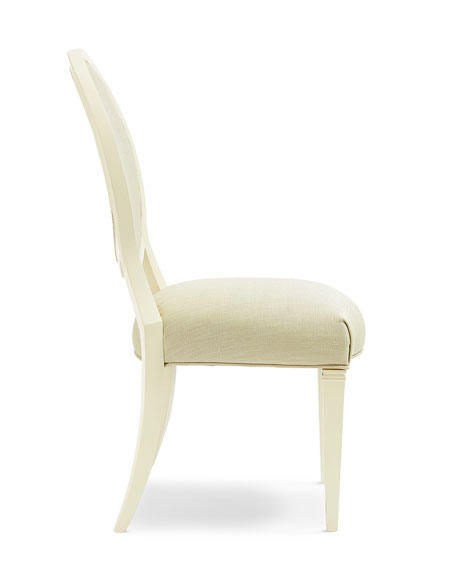 Image 4 of 5: caracole Pair of Taste-Full Dining Side Chairs