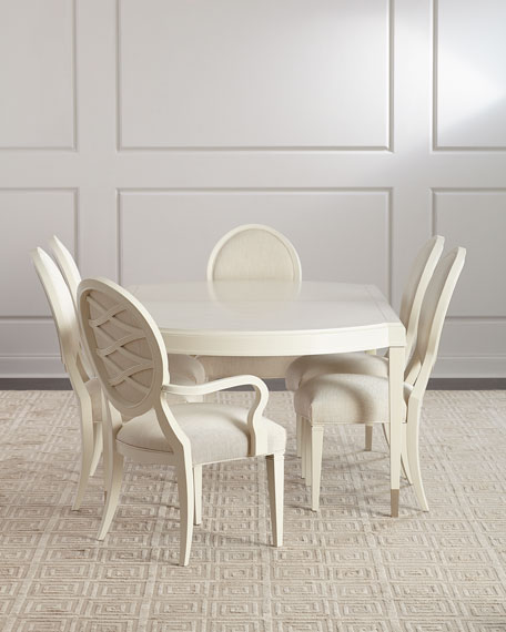 Image 1 of 5: caracole Pair of Taste-Full Dining Side Chairs