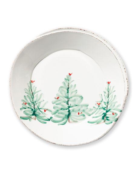 Lastra Holiday European Dinner Plate