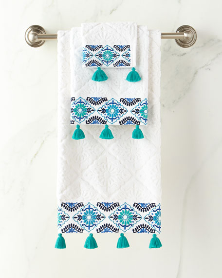 Aloka Blue Bath Towel