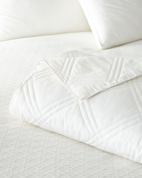 Austin Horn Collection Queen Down Feather Comforter