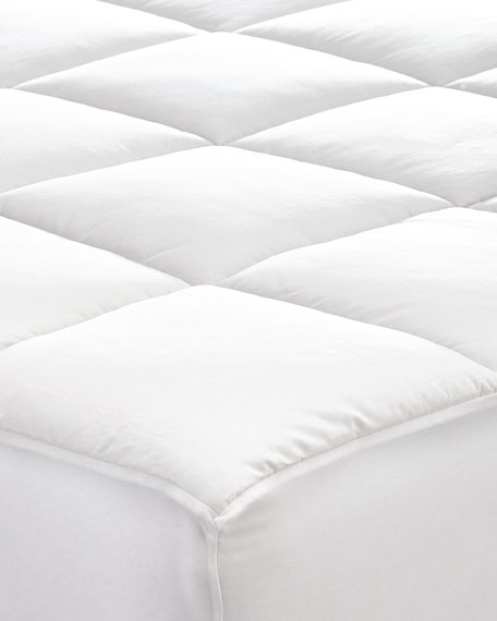 Austin Horn Collection King Fitted Mattress Pad