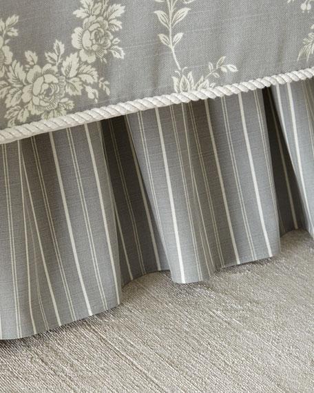Sherry Kline Home Metropolitan Toile Queen Dust Skirt
