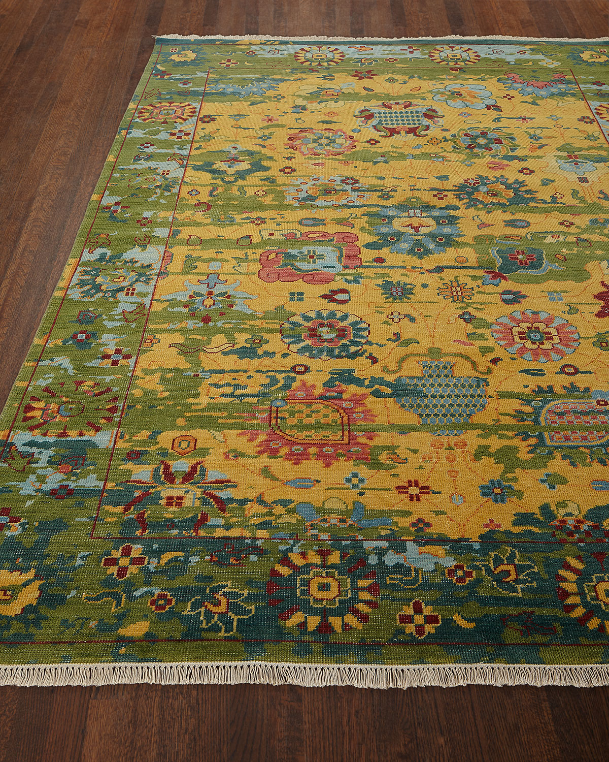 Eden Hand-Knotted Wool Rug, 9' x 13