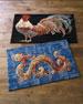 Gallen Rooster Accent Rug, 3' x 5'