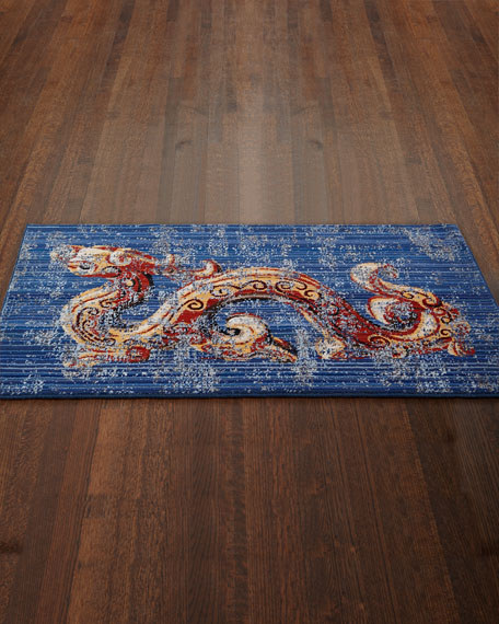 Drake the Dragon Accent Rug, 3' x 5'