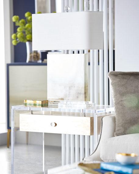 Eunice Acrylic Side Table