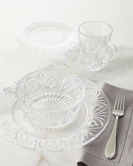 Godinger 16-Piece Dublin Crystal Dinnerware Service