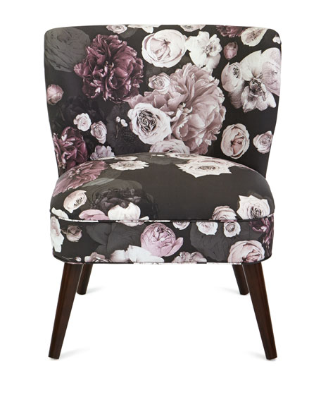 Carmen Floral Accent Chair